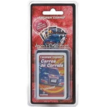 Imagem de Jogo De Cartas Super Copag Trunfo Cards Blister Colecionável Carros De Corrida