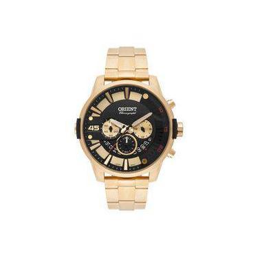 356aa28cf58 Relógio de Pulso Masculino Orient Aço Cronógrafo Americanas ...