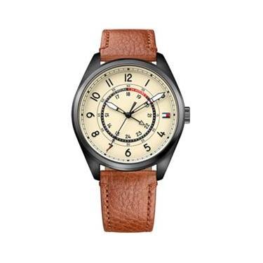 a7a05d3b0de Relógio Masculino Tommy Hilfiger 1791372 - A Prova D`Água   Pulseira em  Couro