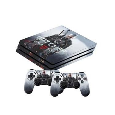 Skin PS4 Pro The Witcher