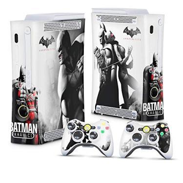 Skin Adesivo para Xbox 360 Fat Arcade - Batman Arkham City