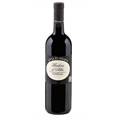 Vinho Barbera D'Alba DOC Superiore 2015-14,50% 0,375 ml Meia Garrafa