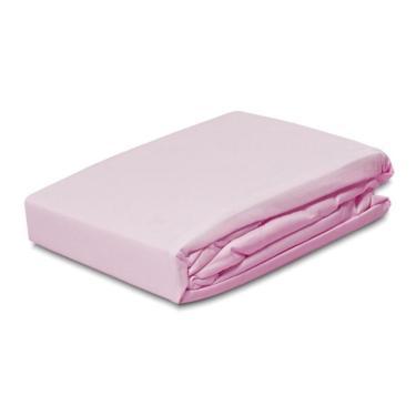 Lençol avulso queen microfibra com elástico - rosa LE