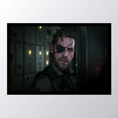 Quadro com moldura Metal Gear Solid V The_004