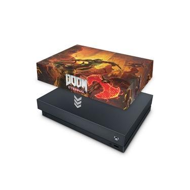 Capa Anti Poeira para Xbox One X - Doom Eternal