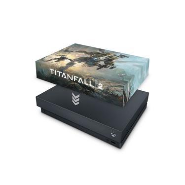 Capa Anti Poeira para Xbox One X - Titanfall 2