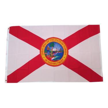 Bandeira Florida Sunshine State Banner Bandeira Bandeira TrendyLuz Bandeira 3 x 5 pés