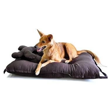Cama Colchão para Cachorro Pet Conforto Grande - G - Marrom - Bichinho Chic