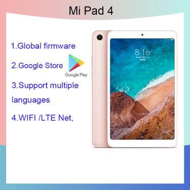 Imagem de Xiaomi tablet 4 8.0 polegada tablet android 10/gráficos tablette snapdragon 660aie 4gb ram 64gb rom