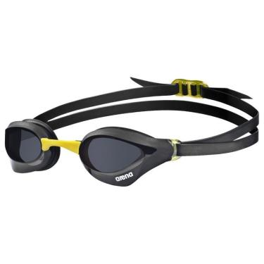 Óculos de Natação Cobra Core Arena - preto/amarelo/lente fumê