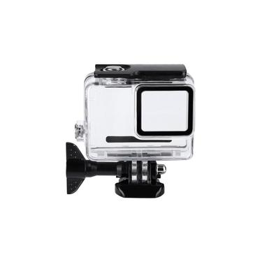 Rust Resistant 30m Waterproof Underwater Case for Gopro Hero 7 Silver/White for Surfing, Diving, Swimming, Selfie, Touring, Mountaineering, Skydiving