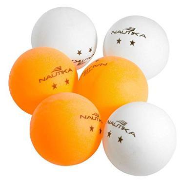 Conjunto De Bolas para Ping Pong 6pc - Nautika