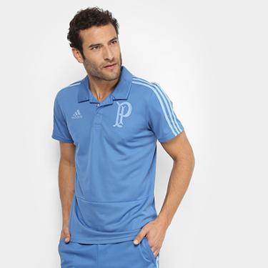 93ac6e61b6 Camisa Polo Palmeiras Adidas Viagem Masculina - Masculino
