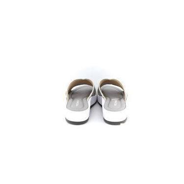 Tamanco Piccadilly 474001 Branco/prata