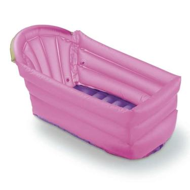 Banheira Inflável Bath Buddy Rosa Multikids Baby - BB206 - Padrão