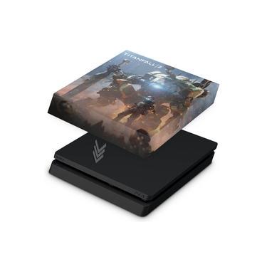 Capa Anti Poeira para PS4 Slim - Titanfall 2 #b
