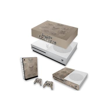 Capa Anti Poeira e Skin para Xbox One S Slim - Shadow Of The Colossus