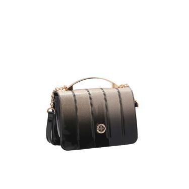 Bolsa Feminina Chenson Transversal Gliter Dourado 3483173  feminino