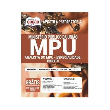 Imagem de Apostila Mpu 2020 - Analista Do Mpu – Direito