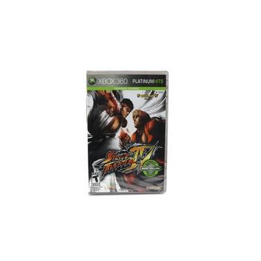 Street Fighter Iv Xbox 360 Platinum Hits Lacrado
