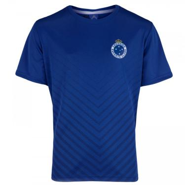 Camiseta do Cruzeiro Bent - Infantil Braziline Unissex
