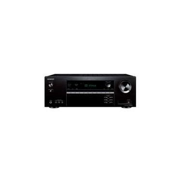 Receiver Onkyo, Bluetooth, 4K HDR, 5.2 Canais, 110V, Dolby Atmos e DTS:X - TX-SR393