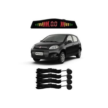 Sensor De Estacionamento Ré Fiat Palio Todos Preto