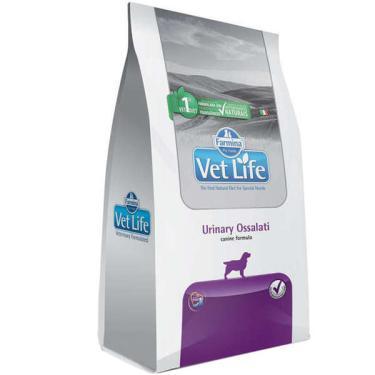 Ração Farmina Vet Life Urinary Ossalati para Cães Adultos com Cálculos Urinários - 2 Kg