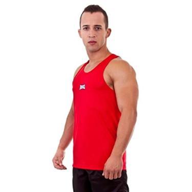 Camisa Regata Dry Fighter Vermelha - Rudel Sports - P