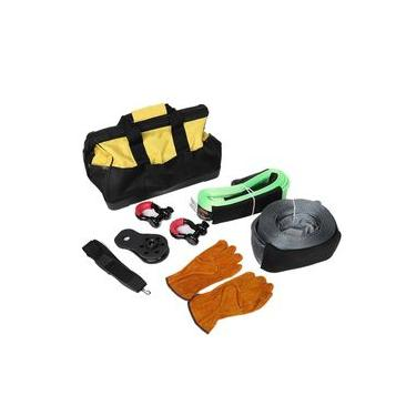 Multi-Function Wild Land Rescuing Equipment Set 7 in 1 Heavy Duty Recovery Securing Accessory