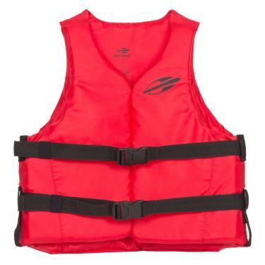 Colete salva vidas homologado classe v 1a aquaticos mormaii Vermelho
