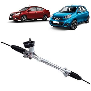 Imagem de Caixa Direção Mecanica Eletrica Nissan March 2012