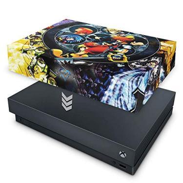 Capa Anti Poeira para Xbox One X - Kingdom Hearts
