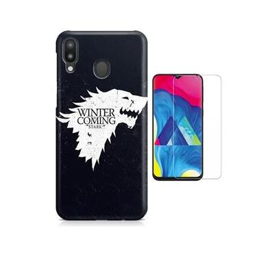Kit Capa Galaxy M20 Game Of Thrones + Pel Vidro
