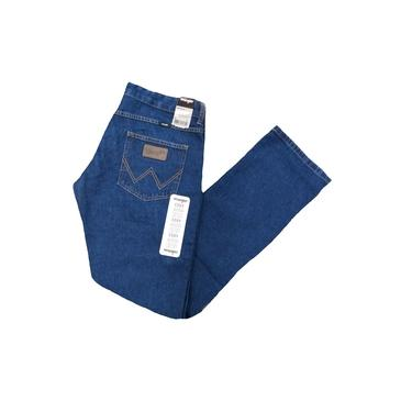 Calça Jeans Wrangler Cody Masculina 100% Algodão 12 Onças Cintura Média.