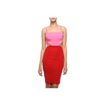 Vestido Triya Lápis Bicolor
