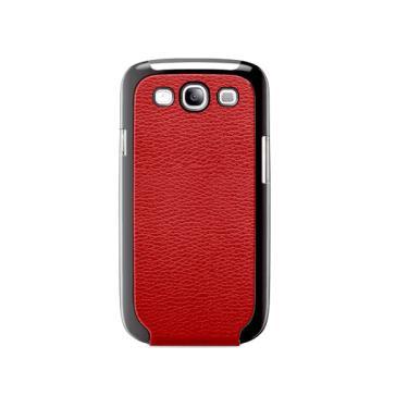 Capa p/ Samsung Galaxy S3 Belkin Snap Flip Couro Vermelho F8M397TTC02