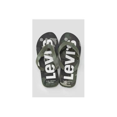 Chinelo Levis Logo Sportswear Militar