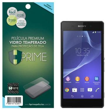 Pelicula de Vidro temperado 9h HPrime para Sony Xperia Z2, Hprime, Película Protetora de Tela para Celular, Transparente