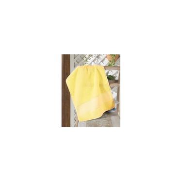 Imagem de °TOALHA lavabo felpudo p/bordar torino ii liso amarela
