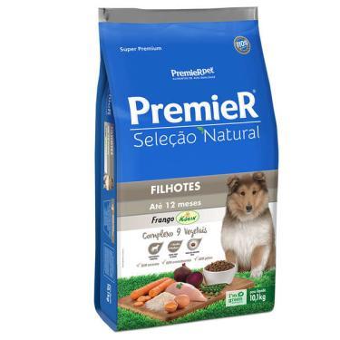 Ração Premier Seleção Natural para Cães Filhotes Até 12 Meses - 10,1 Kg