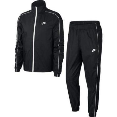 Agasalho Nike Nsw Suit Basic Masculino Preto