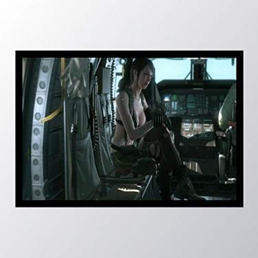 Quadro com moldura Metal Gear Solid V The_007