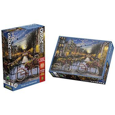 Imagem de Quebra-cabeças Grow 2000 peças: Verão em Amsterdã (exclusivo Amazon), Multicor