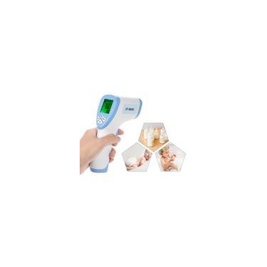 Lcd digital sem contato termômetro infravermelho infravermelho testa função de retenção de dados de medição de temperatura da superfície corporal