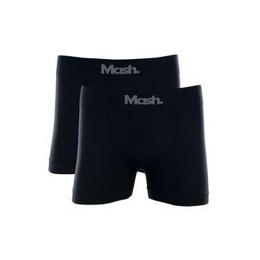 12 Cuecas Boxer Sem Costura Microfibra Mash Oferta