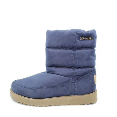 Bota Barth Shoes Snowflake Azul Marinho  feminino