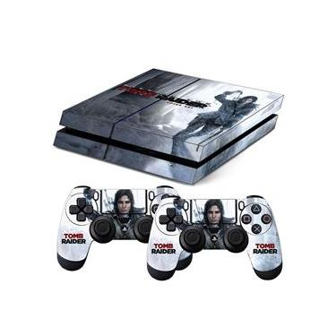 Skin PS4 Fat Rise Of The Tomb Raider