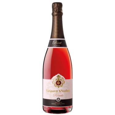 Espumante Segura Viudas Rosado Rosé Brut 750ml