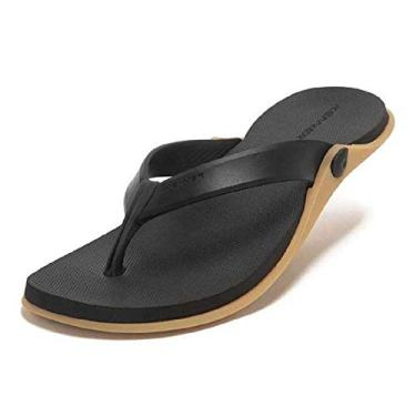 Chinelo Kenner HDR Preto/Bege Masculino